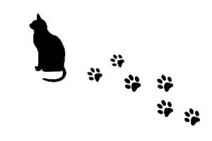 Cat Paw Print Drawing Galleryhipcom The Hippest
